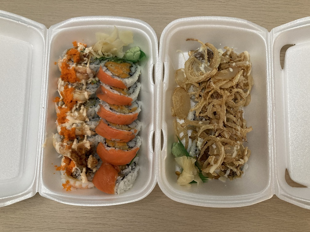 Izumo Sushi Restaurant Review Bill S Roll Tiger Roll Crispy Onion Prince Roll Whalley Surrey Bc Food N Eats I opened a fake uber eats restaurant from my house and sold sushi for a whole week. izumo sushi restaurant review bill s